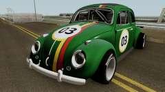 Volkswagen Beetle Ragtop Sedan 1963 для GTA San Andreas