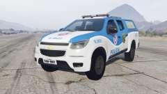 Chevrolet S10 Double Cab 2012 Policia для GTA 5
