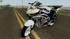 Yamaha R25 Mitsumine Itasha