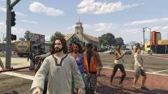 Jesus Christ Mod 2.4 для GTA 5