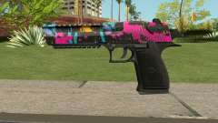 Neon Destroyer Deagle для GTA San Andreas