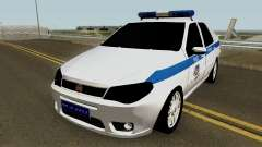 Fiat Albea Turkish Police UnBug для GTA San Andreas