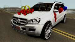 Mercedes-Benz GL (Wedding Car) для GTA San Andreas