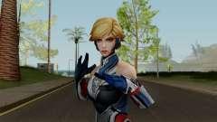 MFF Sharon Rogers (Starlight Armor) для GTA San Andreas