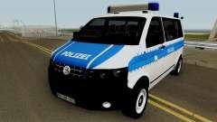 Volkswagen T5 German Police для GTA San Andreas