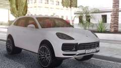 Porsche Cayenne Turbo White для GTA San Andreas