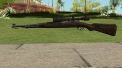 Mafia II K98K With Scope для GTA San Andreas