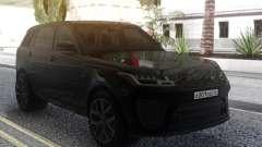 Land Rover Range Rover Sport SVR 2018 для GTA San Andreas