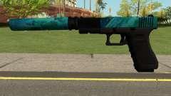 Hurricane Glock 17 для GTA San Andreas