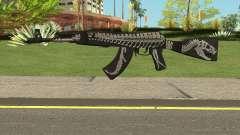 Battle Carnival AKM SKIN 2 для GTA San Andreas