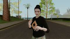 Skins DLC Import Export Female для GTA San Andreas