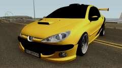 Peugeot 206 Sandogdar Full Sport Iran для GTA San Andreas