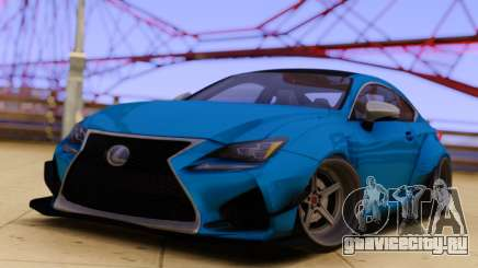 Lexus RS-F для GTA San Andreas