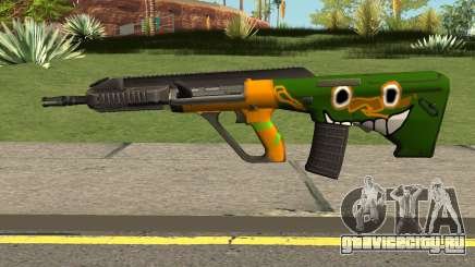 AUG A3 PUBG Edition: Rainforest для GTA San Andreas