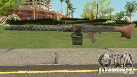 MG-34 Bad Company 2 Vietnam для GTA San Andreas