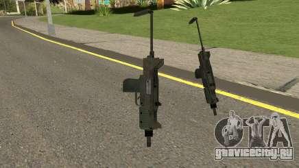 New MP7 HQ для GTA San Andreas