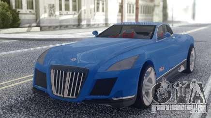 Maybach Exelero Coupe для GTA San Andreas
