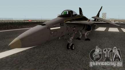 FA-18C Hornet VFA-25 AA-400 для GTA San Andreas