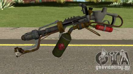 New Flamethrower HQ для GTA San Andreas