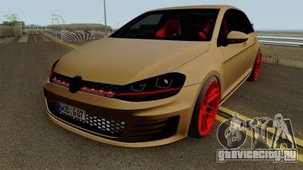Volkswagen Golf 7 GTI SlowDesign для GTA San Andreas