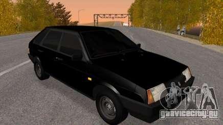 ВАЗ 2109 Черный тонированный для GTA San Andreas