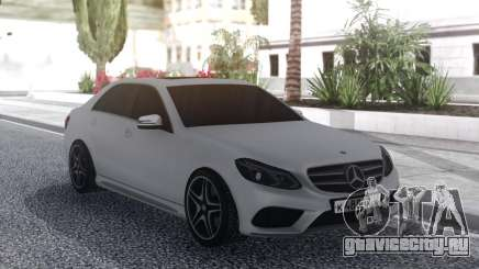 Mercedes-Benz E200 White для GTA San Andreas