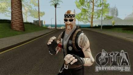 Fortnite Biker Skin - Backbone для GTA San Andreas