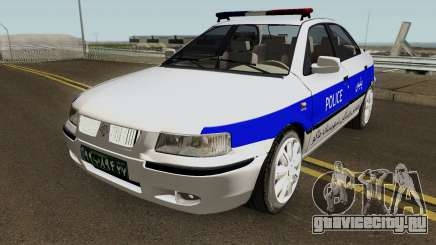 IKCO Samand Police LX-v2 для GTA San Andreas