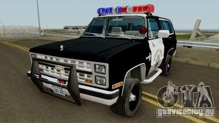 SAHP Chevrolet Blazer 1985 для GTA San Andreas