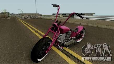 Western Motorcycle Zombie Bobber GTA V для GTA San Andreas