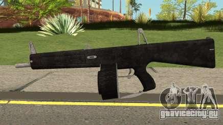 New Combat Shotgun HQ для GTA San Andreas