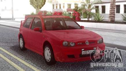 Volkswagen Golf IV Red для GTA San Andreas