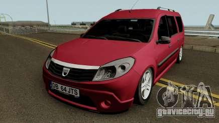 Dacia Grand Sandero для GTA San Andreas