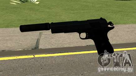 New Silenced Pistol HQ для GTA San Andreas