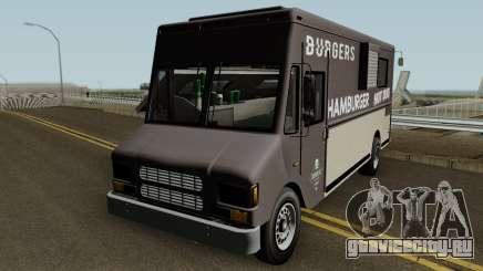 Brute Burger Van GTA V IVF для GTA San Andreas