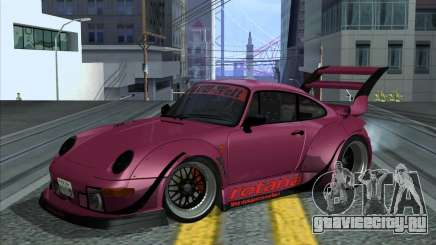 Porsche 993 RWB ROTANA Sport для GTA San Andreas