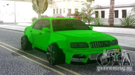 Nissan Cedric WideBody Green для GTA San Andreas