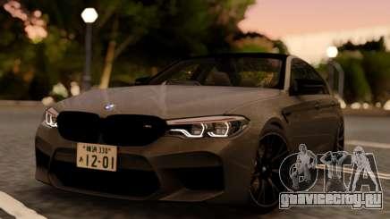 BMW M5 F90 RHD для GTA San Andreas