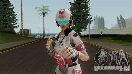 Fortnite Field Surgeon Female для GTA San Andreas