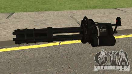 New Minigun HQ для GTA San Andreas