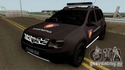 Dacia Duster Zandarmerija для GTA San Andreas