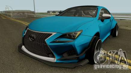 Lexus RC-F для GTA San Andreas