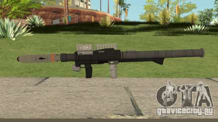 New Rocket Launcher HQ для GTA San Andreas