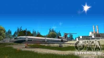 Ту-154 АлРоса легенда Ижмы для GTA San Andreas