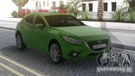 Mazda 3 Green для GTA San Andreas