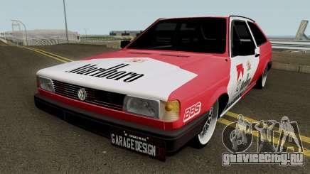 Volkswagen Gol Quadrado Marlboro для GTA San Andreas