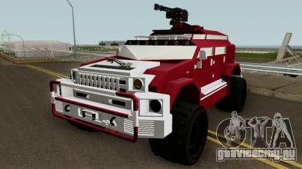 HVY Menacer GTA V для GTA San Andreas