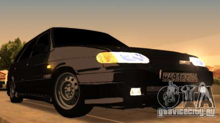 VAZ 2114 Improved Vehicle Features DAG Edit для GTA San Andreas