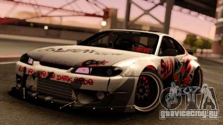 Nissan Silvia S15 Rocket Bunny Red для GTA San Andreas