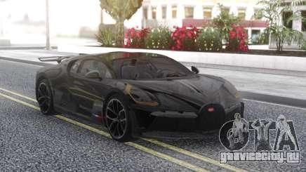 Bugatti Divo Black для GTA San Andreas